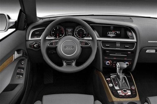 2013 Audi S5 interior