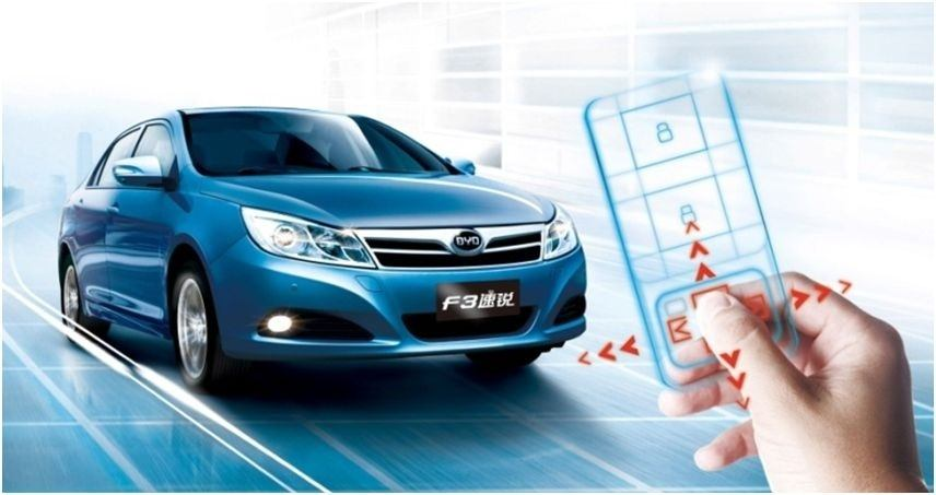 BYD F3 Plus remote