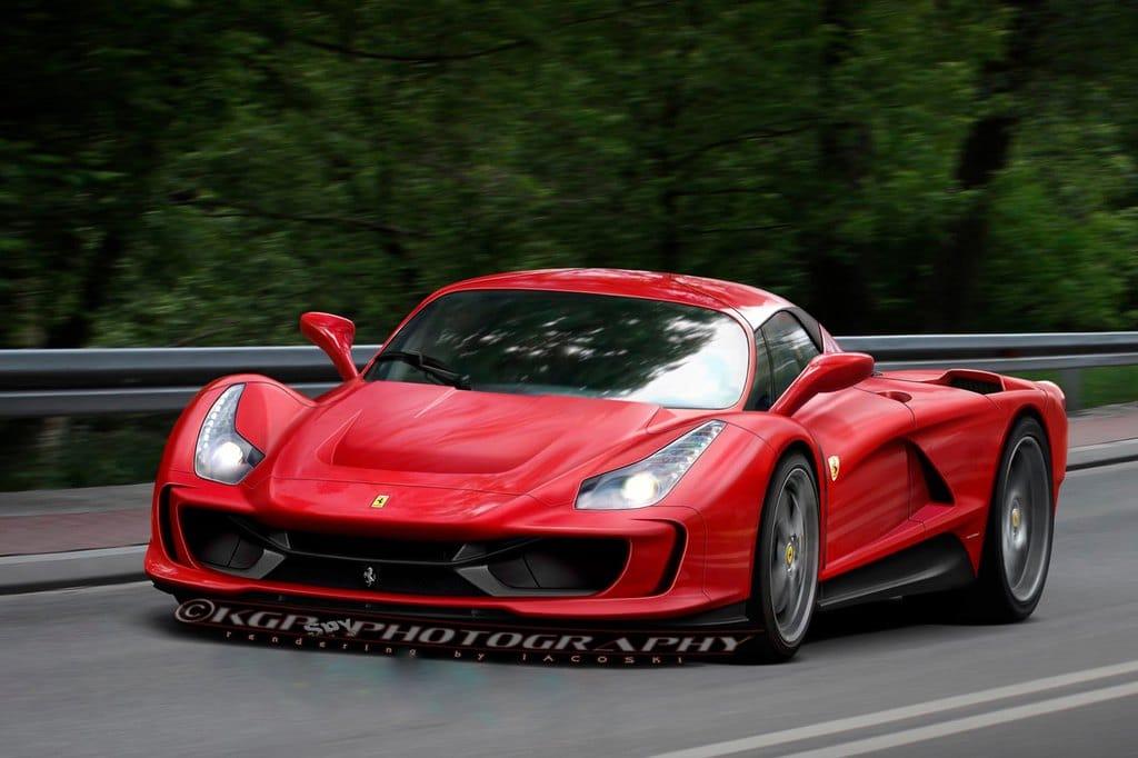 Automoblog.net - Ferrari Enzo-successor F70