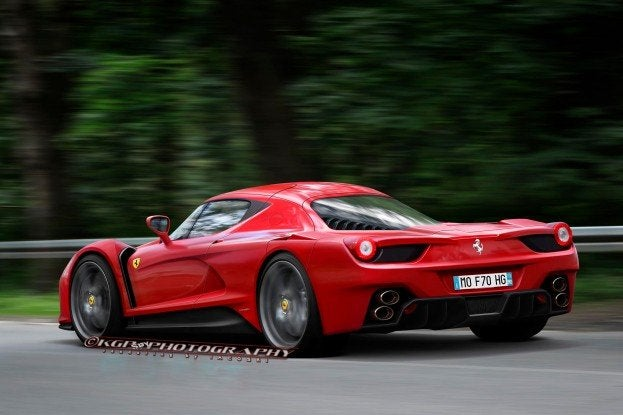 Automoblog Ferrari Enzo Successor F70