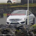 2014 Mercedes-Benz CLA Caught During a Photoshoot