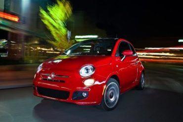 2012 Fiat 500 Sport front left view