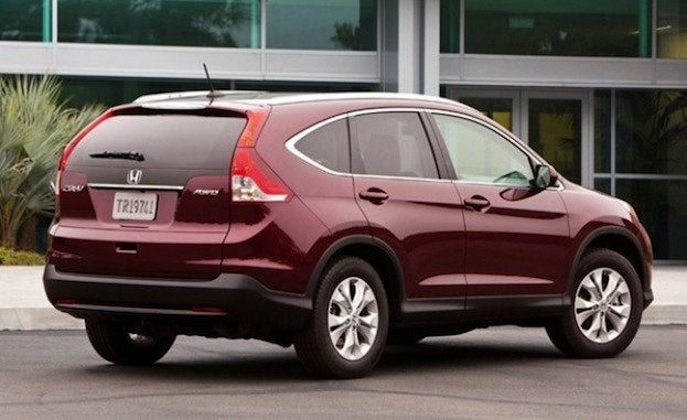 2012 Honda CR-V rear