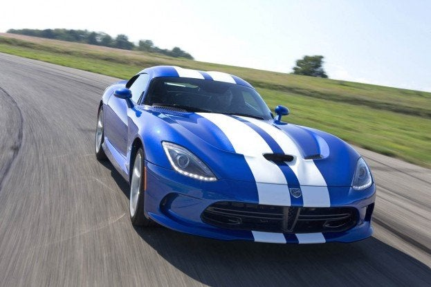 2013 SRT Viper GTS Launch Edition model at Gingerman Raceway, Se