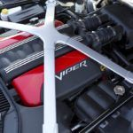 Under the hood of the 2013 SRT Viper models is the all-aluminum,