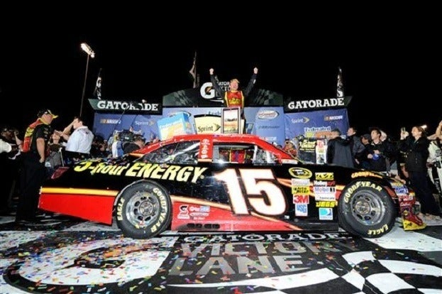 201220Richmond220Clint20Bowyer20Celebrates20In20Victory20Lane John Harrelson Getty Images for NASCAR