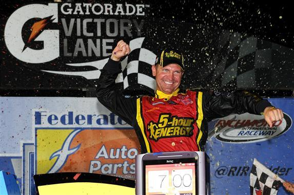201220Richmond220Clint20Bowyer20In20Victory20Lane Patrick Smith Getty Images for NASCAR