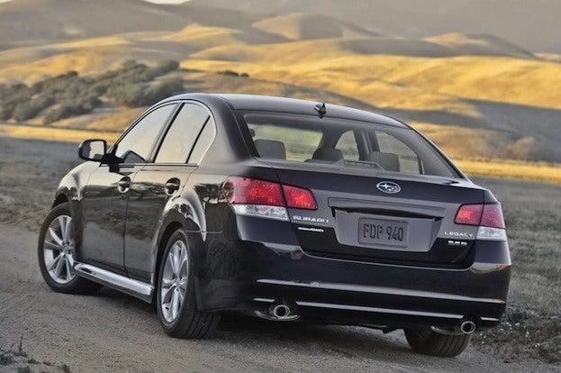 2013 Subaru Legacy rear