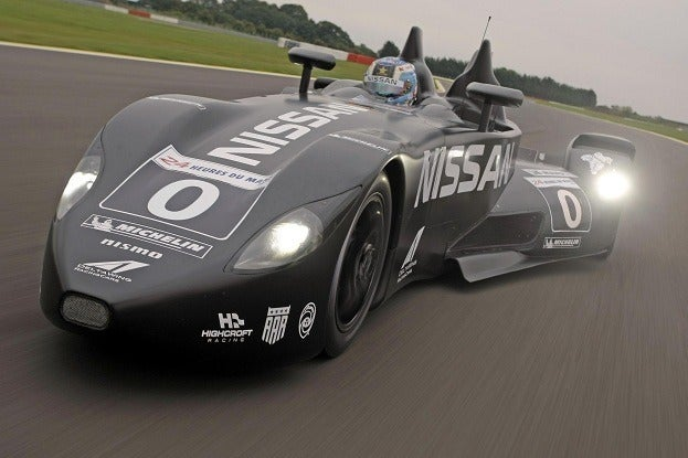 Nissan DeltaWing front