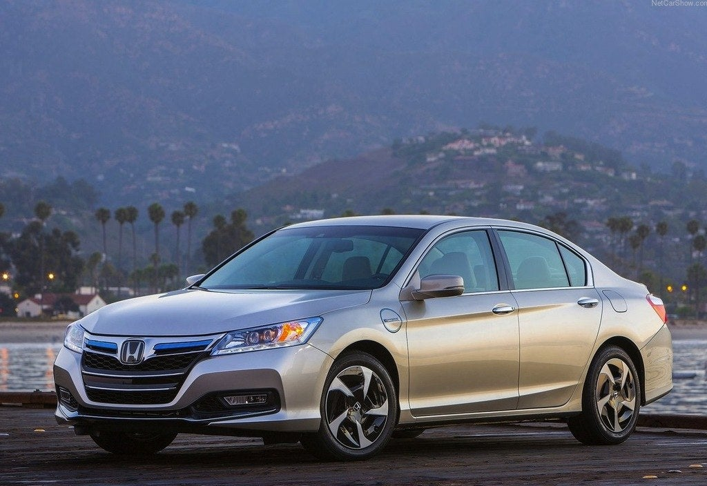 New 2014 Honda Accord Plug In Hybrid Phev Pictures And