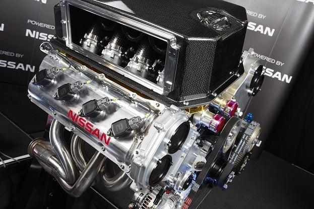 Nissan Unveils Engine for 2013 Australian V8 Supercar Campaign