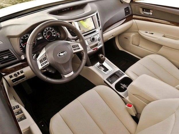 2013 Subaru Legacy interior