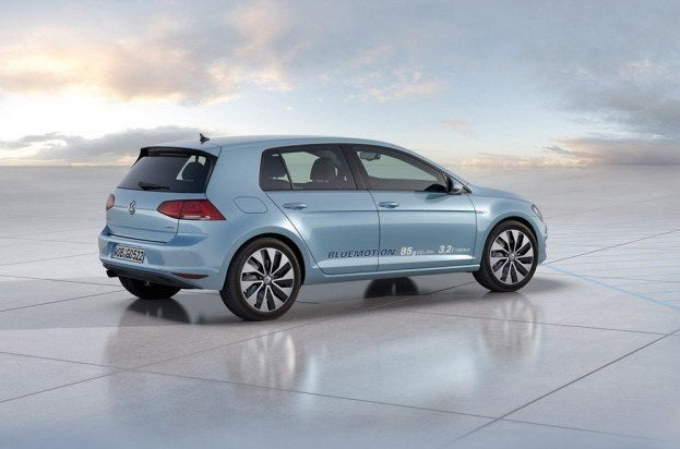 Volkswagen Studie Golf BlueMotion