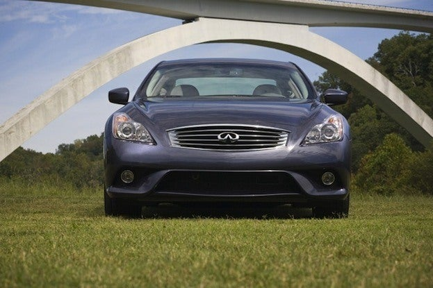 2011 Infiniti G37 Coupe front