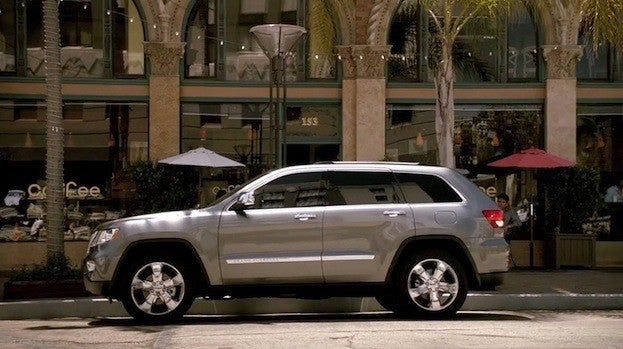 2012 Jeep Grand Cherokee side