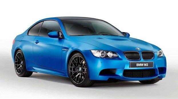 2013 BMW M3 Coupe Frozen blue