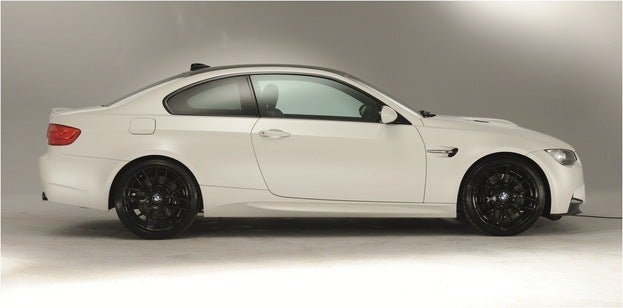 2013 BMW M3 Coupe Frozen White