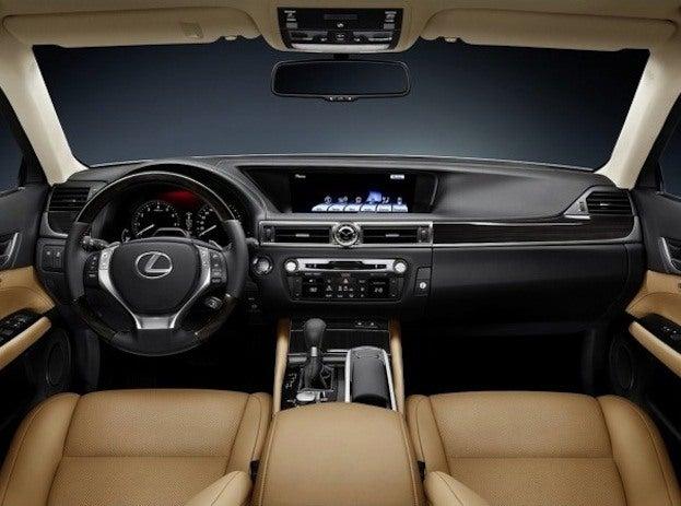 2013 Lexus GS350 interior