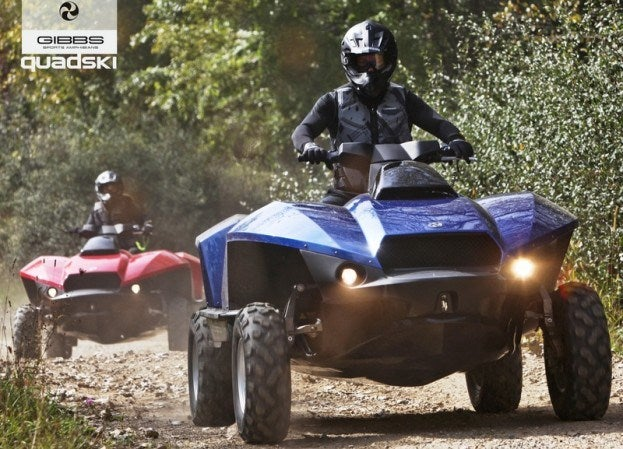 Gibbs Quadski on land