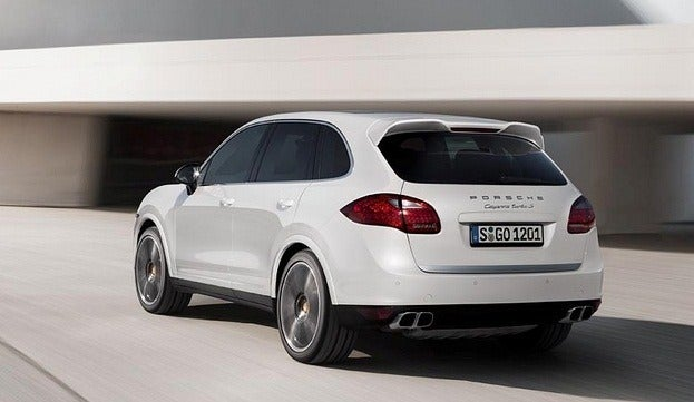 Porsche Cayenne Turbo S rear