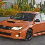 Subaru WRX STi Orange and Black (2)