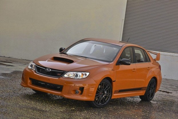 Subaru WRX STi Orange and Black (5)
