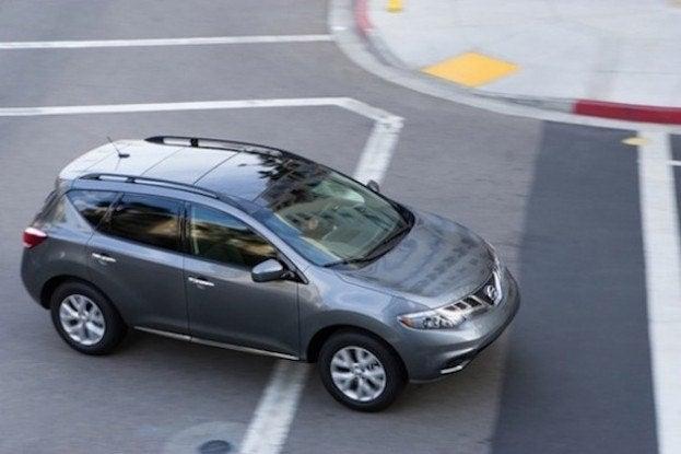 2013 Nissan Murano top