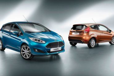 2014 Ford Fiesta Euro Spec two and four door hatchbacks1