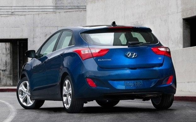 2013 Hyundai Elantra GT rear