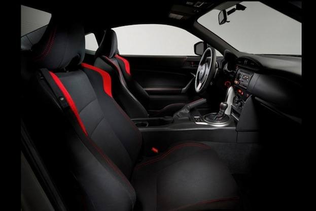 2013 Scion FR-S interior