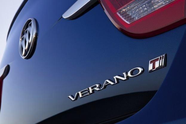 2013 Buick Verano badge