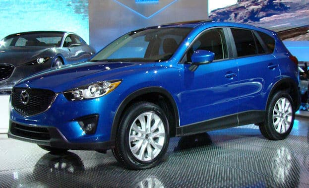 2012 Canadian International Auto Show Mazda CX-5