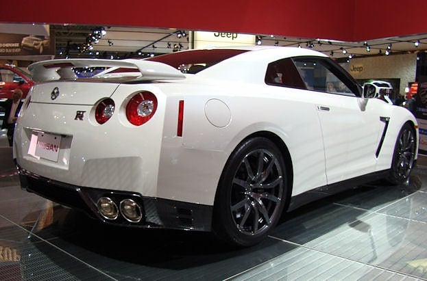 2012 Canadian International Auto Show Nissan GTR chris nagy