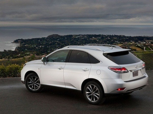2013 lexus rx 350 f sport awd review. Black Bedroom Furniture Sets. Home Design Ideas