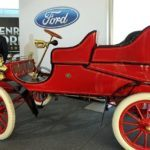 Bill Ford with 1903 Model A