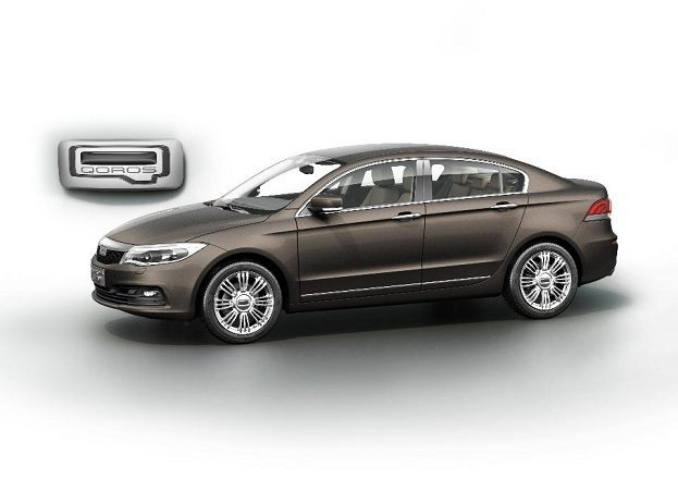 Israeli Chinese Partnership Qoros Uncovers GQ3 Sedan for 2013