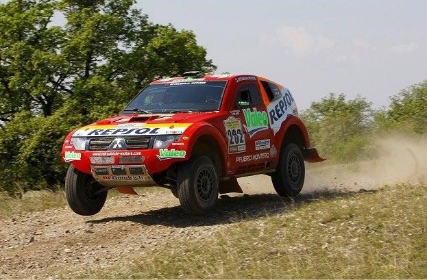 Mitsubishi Pajero rally