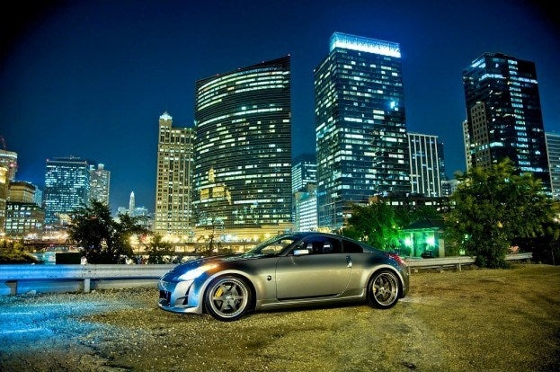 NISMO 350Z at night