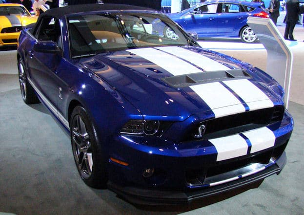 2012 Canadian International Auto Show 2013 ford mustang shelby gt500