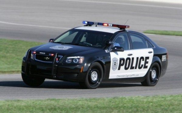 Chevy Caprice Police Interceptor