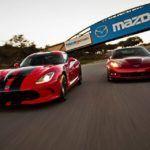 Battle of the American Supercars: Viper vs. 'Vette