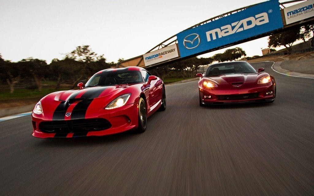 2013 SRT Viper GTS with 2013 Chevrolet Corvette ZR1 photo by William Walker
