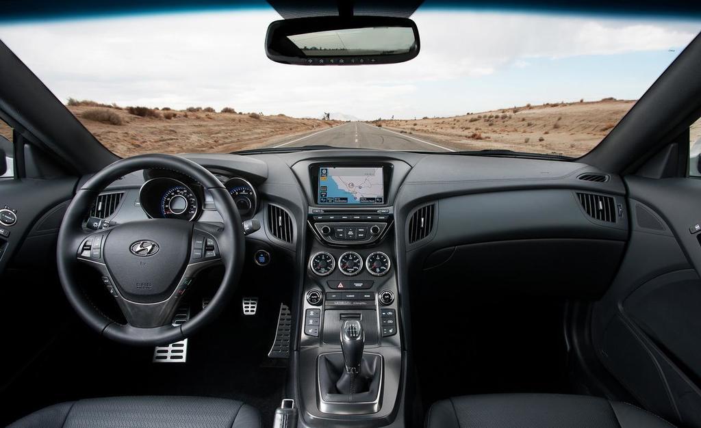 Inside and out the 2013 subaru brz 2013 hyundai genesis coupe interior vanachro Images