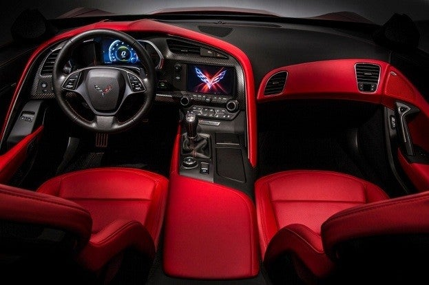 2014-Chevrolet-Corvette interior