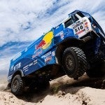 The Victors of the 2013 Dakar Rally