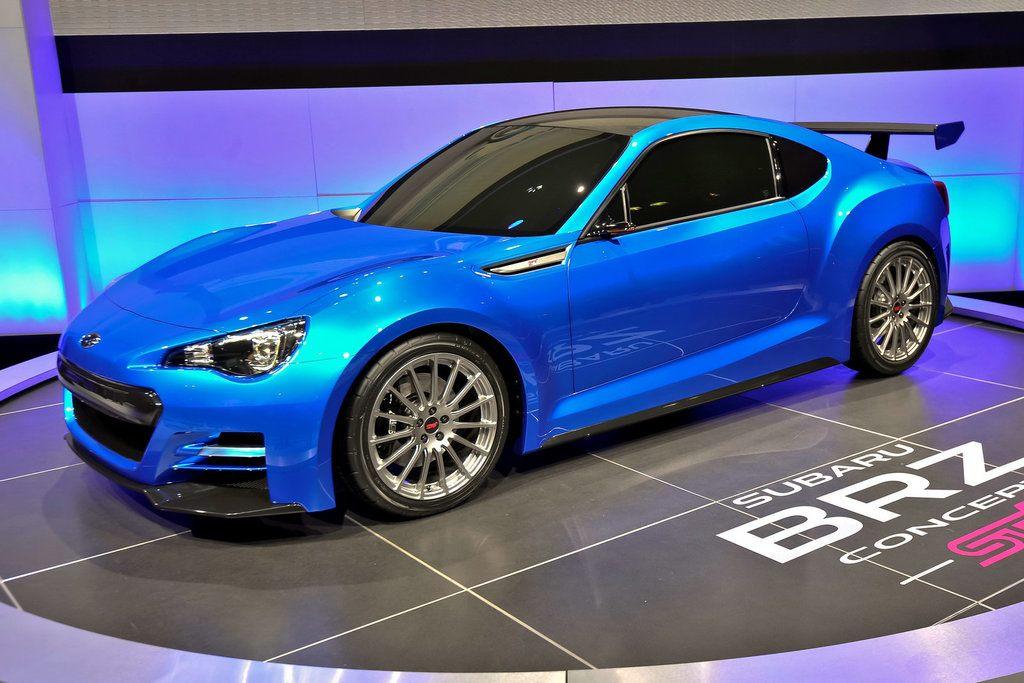 Subaru Brz Sti Performance Concept Unveiled At 2015 New