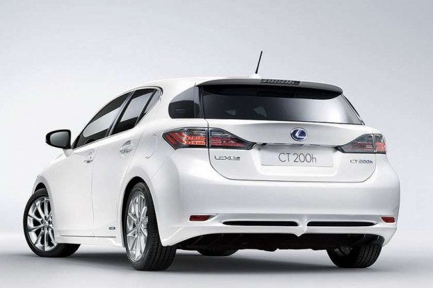 Lexus CT 200h rear