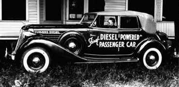 1930firstDieselCarlow 370x180 - 120 Years Since Patent, Diesel Power is Being Realized