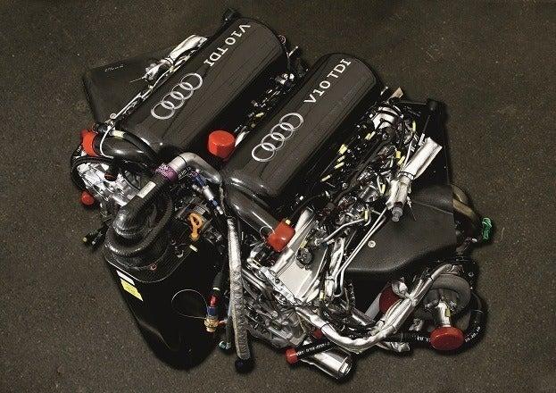 Audi Le Mans /Motor V10 TDI