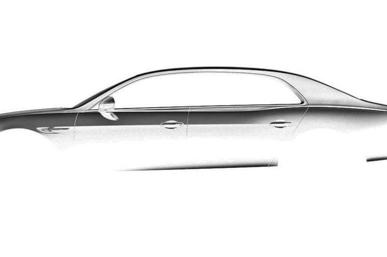 Bentley Flying Spur sketch